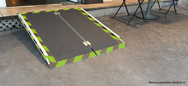 Installation rampe amovile pour erp a Douai