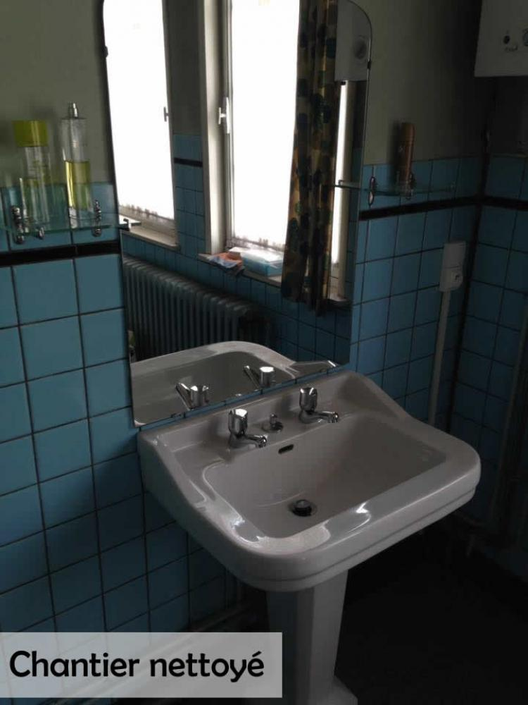 Chantier propre et nouvelle robinetterie Valenciennes
