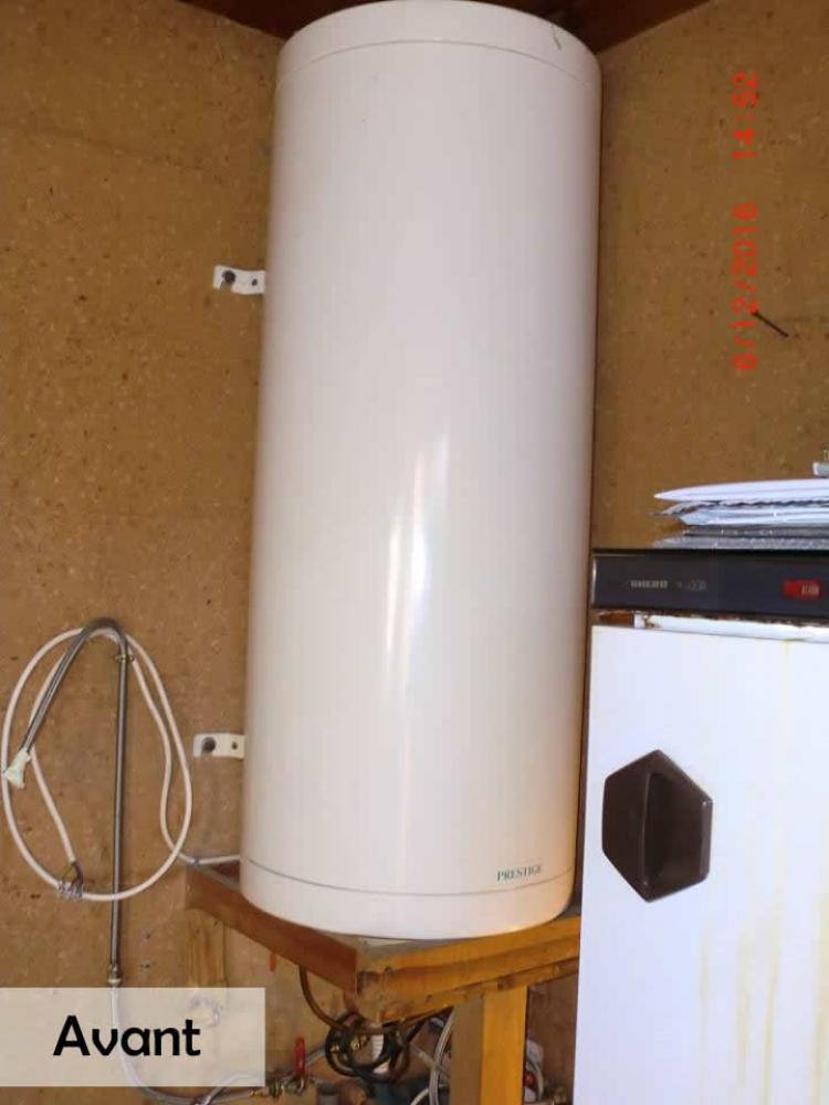 ancien chauffe eau 200 litres Lauwin Planque
